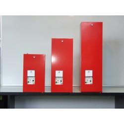 Skrzynka alarmowa do wyzwalania klap dymowych z poziomu posadzki